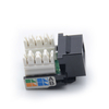 MT-5104 Cat5e Cat6 Keystone Jack Rj45 Connector with 110 IDC 2 Cover