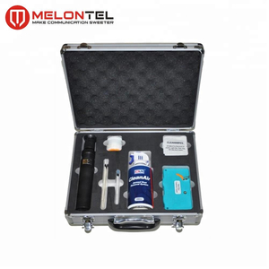 MT-8409 FTTH Hand Tool Sets with Microscope And Cleaning Tool Fiber Optic Cleaning Kit