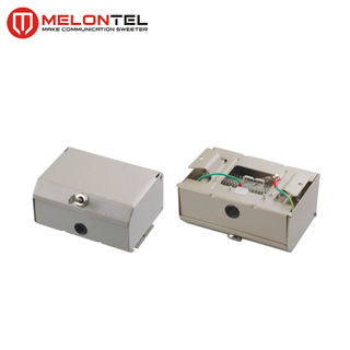 MT-2351 SPCC 30 pair indoor Metal distribution box for profile module