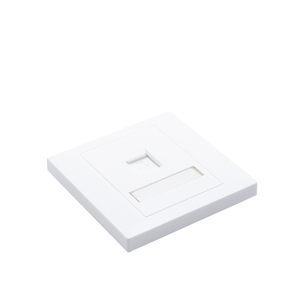 MT-5901 1 Port Network Wall Socket Face Plate RJ45 2 Port Telephone Outlet Telephone socket