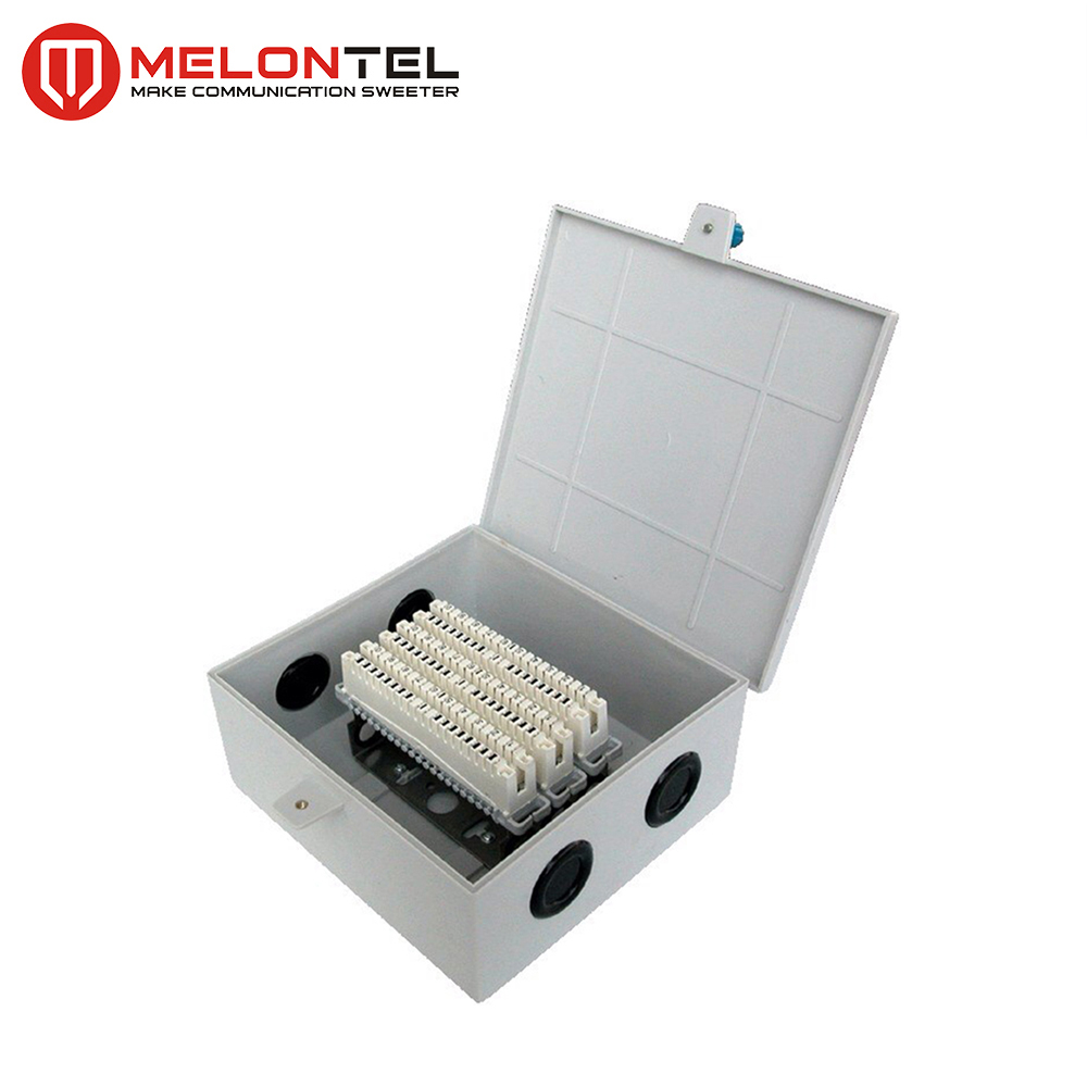 MT-2305 plastic wall mounting distribution box for LSA module