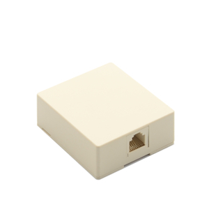 MT-5829 6P4C Single Port 4 Pin Telephone Connection Box RJ11