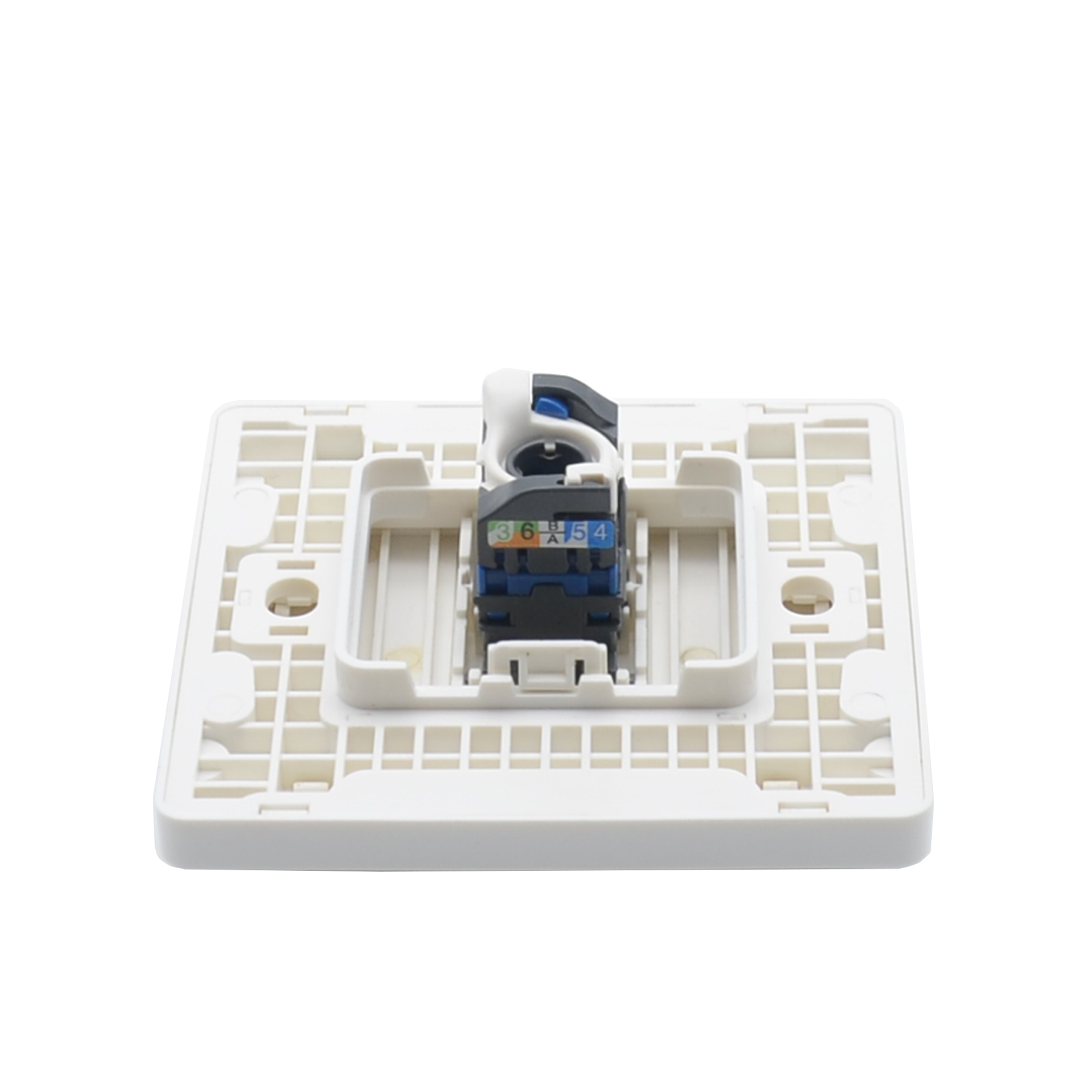 MT-5908 Household Network Outlet RJ45 Network Cable Face Plate