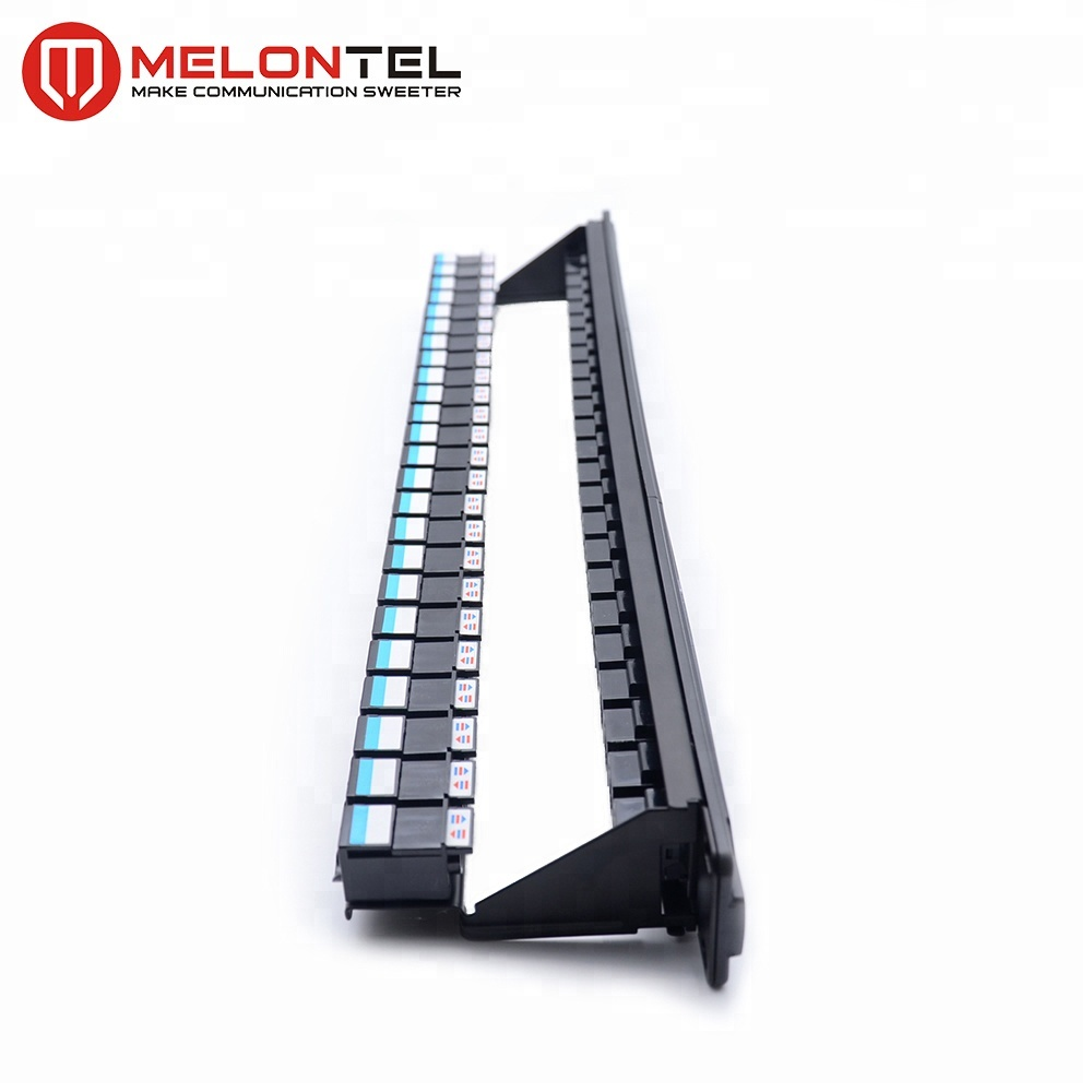 MT-4208 Full Loaded 24 Port Patch Panel with Inline Coupler