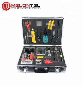 MT-8403 Cheap Factory Customizable Fiber Optic Fusion Splicing Tool Kit With Fiber Optic Stripper