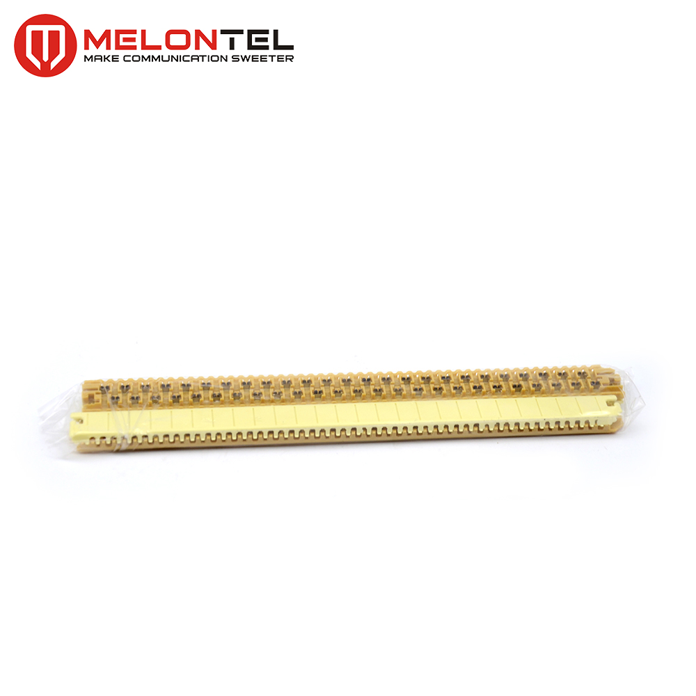 MT-3502 4000 3M standard Straight grease filled module 25 Pair Copper Connector Splice Module 25 pairs terminal block