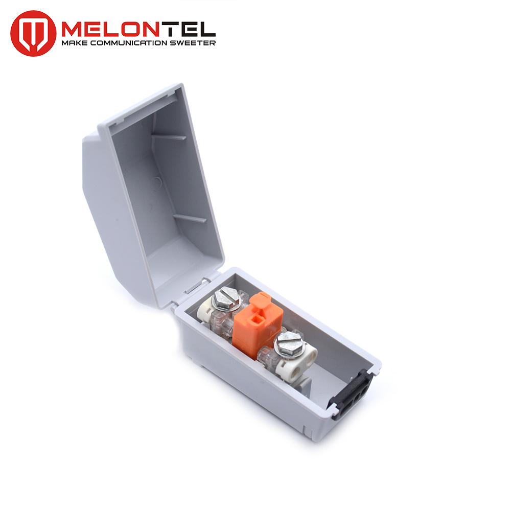 MT-3021 Telephone 1 single pair Drop Wire cable Connection Box