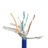 MT-5002 STP Lan Patch Cord Customized Length LSZH with RJ45 Connector Cat5E Cat6 Cat7