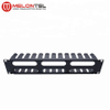 MT-4465 2U 19 Inch Cable Manager With Metal Cover Metal Ring/Cover