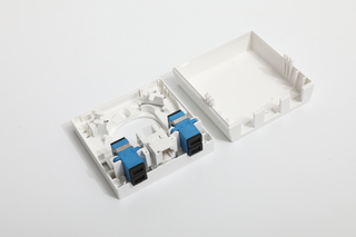 MT-1043 4 Core Fiber Optic Termination Box Abs Ftth Indoor Joint Box