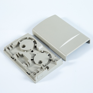MT-1214 Wall Mount Type Indoor Plastic 2 Core SC FC FTTH Box