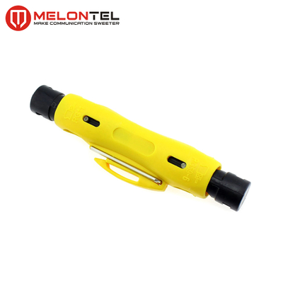 MT-8912 RG11 RG7 RG6 RG59 Stripper Cutter Coax TV Cable Stripper Tool
