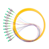 MT-S1000 Yellow Single-mode 0.9mm SC Simplex Fiber Optic Cable Pigtail with SC APC Male Connector