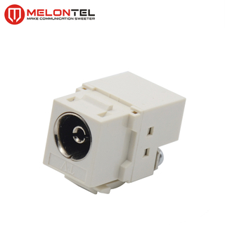 MT-5551 CATV Keystone Jack Coaxial Female Connector Socket