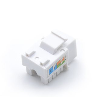 MT-5102 CAT.5E CAT.6 RJ45 Female Connector Krone RJ45 Modular Jack Dual IDC Keystone Jack